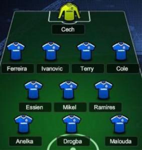 Chelsea V United