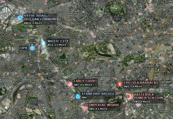 Locations Overview
