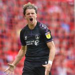 Charlton Athletic's Conor Gallagher celebrates scoring his team's first goal