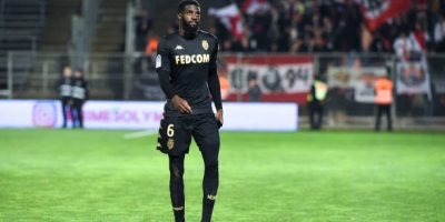 Tiemoue BAKAYOKO of Monaco leave the pitch after received a red card during the Ligue 1 match between Nimes and Monaco at Stade des Costieres on February 1, 2020 in Nimes, France. (Photo by Alexandre Dimou/Icon Sport via Getty Images)